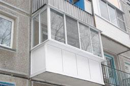 Остекление балконов и лоджий Бердск